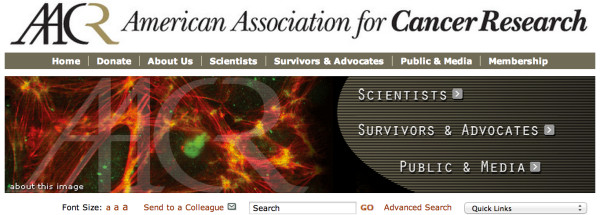 American_Association_for_Cancer_Research_-_AACR