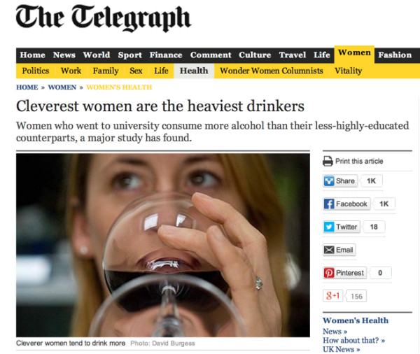 Cleverest_women_are_the_heaviest_drinkers_-_Telegraph