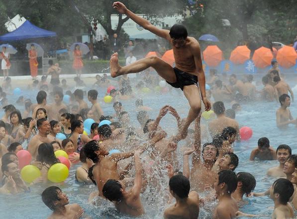 中国の温泉