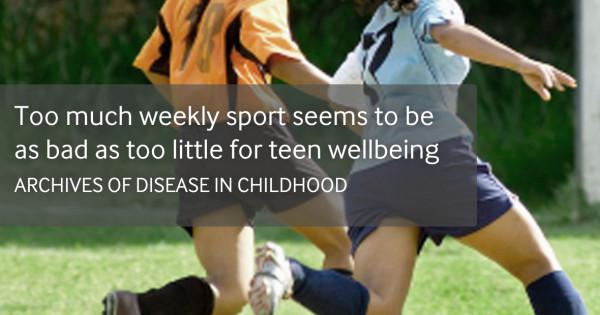 過度な運動は健康に良くない