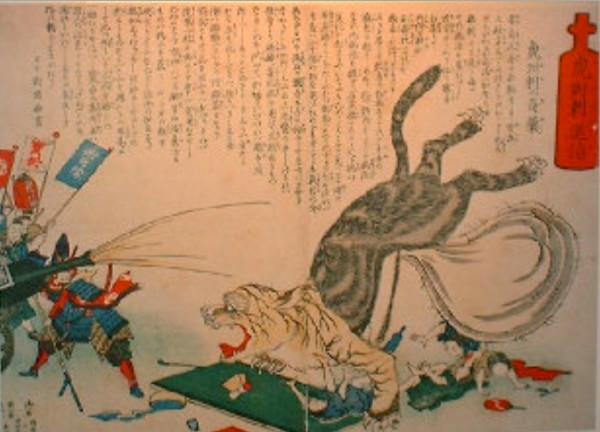 江戸時代のコレラの絵