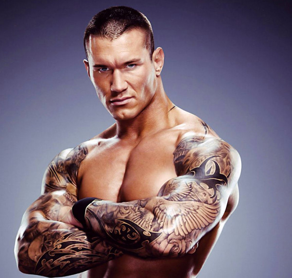 WWEオートンのタトゥー