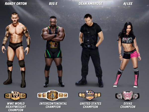 WWEのスーパースター