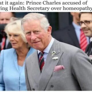 チャールズ皇太子はホメオパシーに論争に加わらないように要請されている
