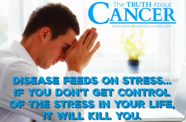 がんとストレスは関係がない
