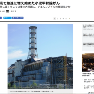 福島の原発事故は子供の甲状腺がんと因果関係はないともあるとも言い切れない