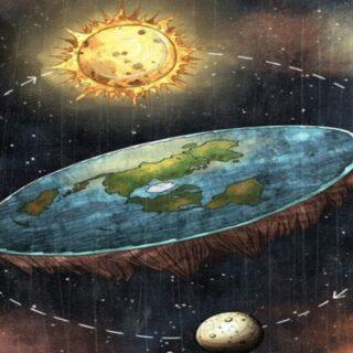 ワクチンを悪と信じている人は地球が平面であると信じている