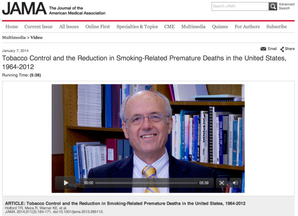 タバコの規制で800万人の早期死亡が回避された