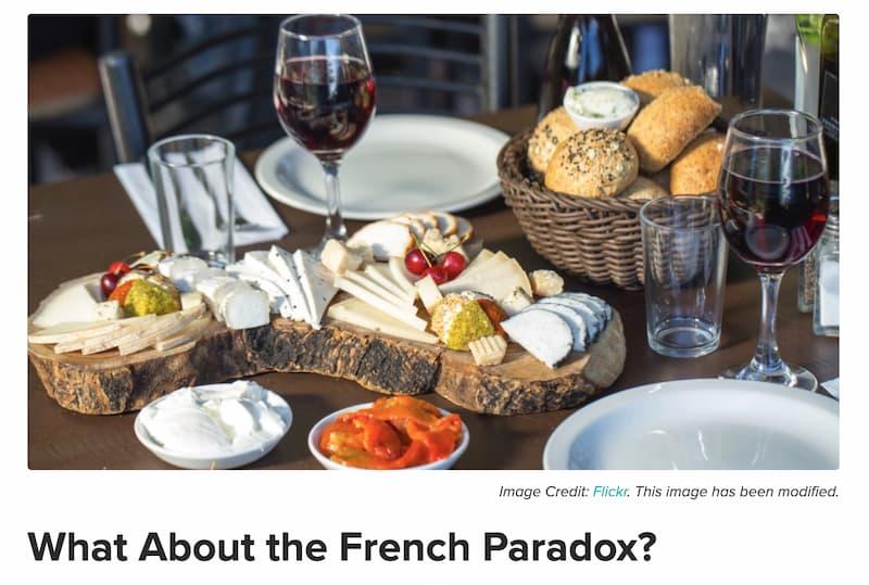 地中海食とフレンチパラドックス
